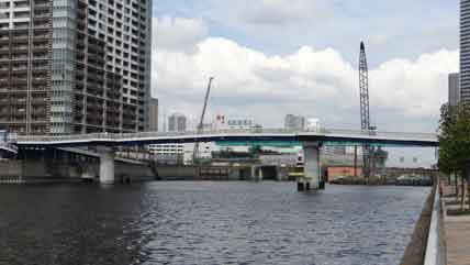 「朝潮小橋(東京都中央区晴海5-1)」の画像検索結果