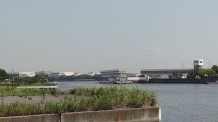 東京の橋:羽田可動橋